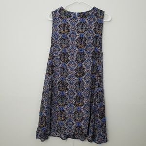 Umgee Mini Fit and Flare Dress